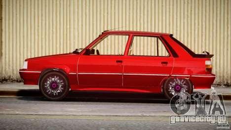 Renault Flash Turbo 11 для GTA 4 вид изнутри