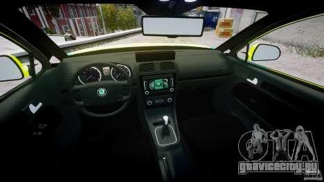 Skoda Octavia Scout Paramedic [ELS] для GTA 4 вид сбоку