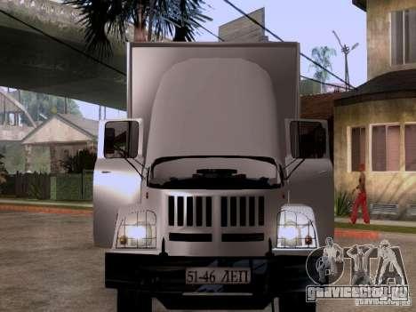 ЗиЛ 131 для GTA San Andreas вид изнутри