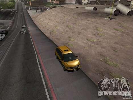 Cabbie  из GTA 4 для GTA San Andreas вид справа