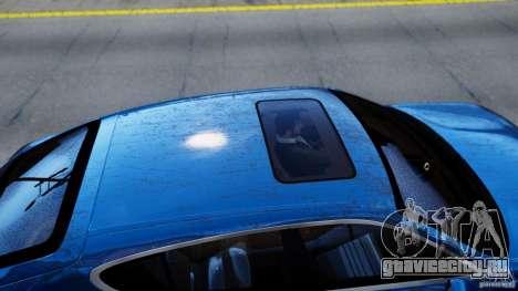 Porsche Panamera Turbo 2010 Black Edition для GTA 4 вид сзади