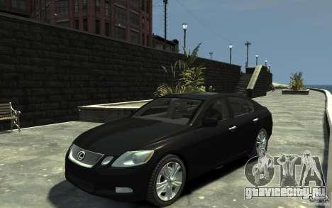 Lexus GS450 2006 для GTA 4