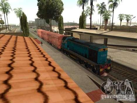 ТЭМ2УМ-420 для GTA San Andreas вид справа