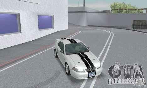 Ford Mustang GT 2003 для GTA San Andreas вид сверху