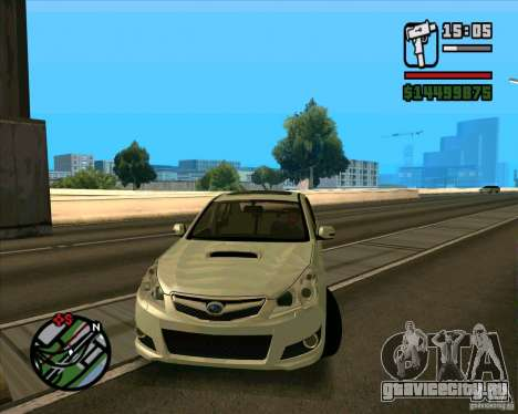 Subaru Legacy 2010 v.2 для GTA San Andreas