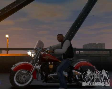 Harley-Davidson Fat Boy Lo (Vintage final) для GTA 4