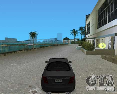 Mercedess Benz CL 65 AMG для GTA Vice City вид слева