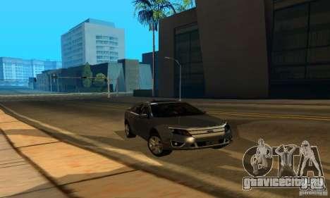 Ford Fusion Sport для GTA San Andreas