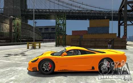 Saleen S7 для GTA 4 вид слева