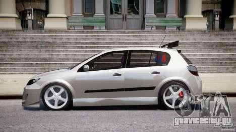 Opel Astra 1.9 TDI 2007 для GTA 4 вид слева