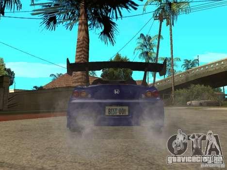 Honda S 2000 для GTA San Andreas вид сзади слева