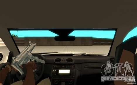 Mercedes-Benz CLK 500 Kompressor для GTA San Andreas вид справа