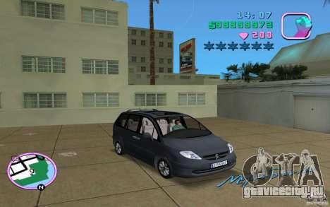 Citroen C8 для GTA Vice City