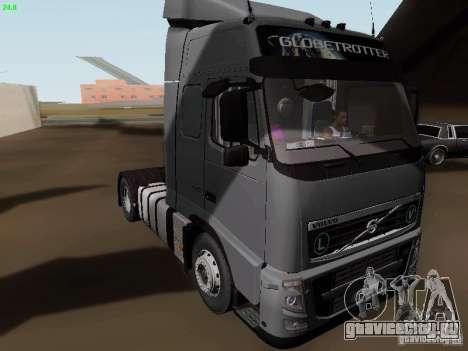 Volvo FH13 Globetrotter для GTA San Andreas вид слева