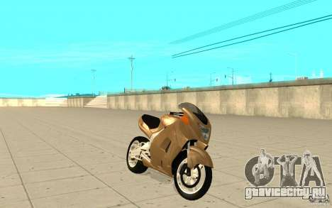 GTAIV TLAD Hakuchou Custom Version-Without Custom Paintjob для GTA San Andreas