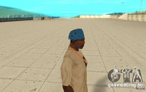 Бандана maryshuana blue для GTA San Andreas второй скриншот