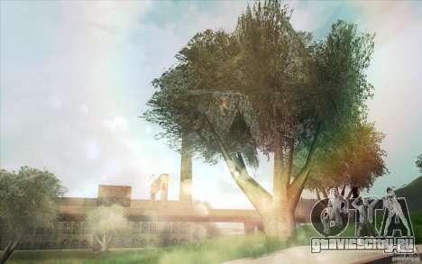 Lensflare для GTA San Andreas третий скриншот