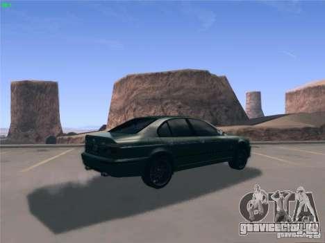 BMW M5 E39 2003 для GTA San Andreas вид слева