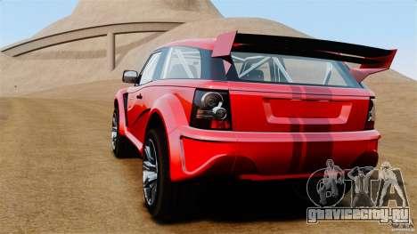 Bowler EXR S 2012 для GTA 4 вид сзади слева
