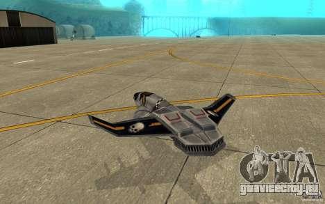 Ястреб air Command & Conquer 3 для GTA San Andreas вид справа