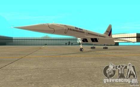 ТУ-144 для GTA San Andreas вид слева