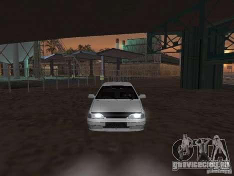 Ваз 2115 Light Tun V.1.1 для GTA San Andreas вид справа