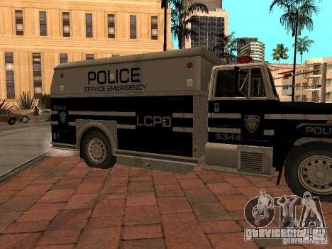 Машина Спецназа HD для GTA San Andreas вид слева