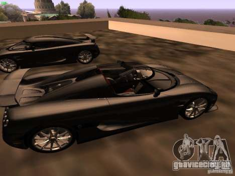 Koenigsegg CCXR Edition для GTA San Andreas вид справа