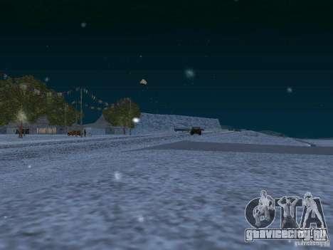 Снег для GTA San Andreas десятый скриншот