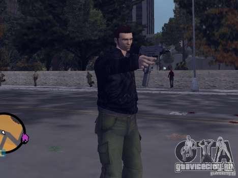 Claude HD from GTA III для GTA Vice City второй скриншот