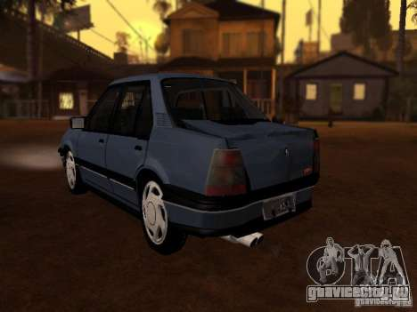Chevrolet Monza GLS 1996 для GTA San Andreas вид сзади