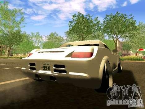 Toyota MR-S для GTA San Andreas вид слева
