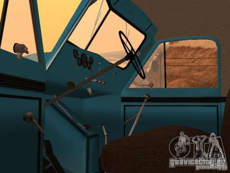 ГАЗ 51 Мусоровоз для GTA San Andreas вид сзади