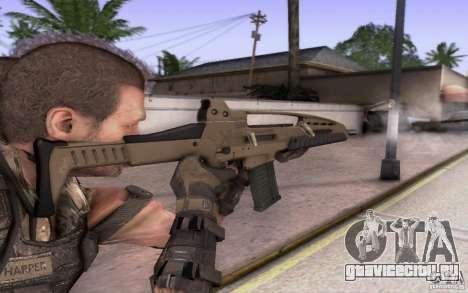 HK XM8 eotech для GTA San Andreas второй скриншот