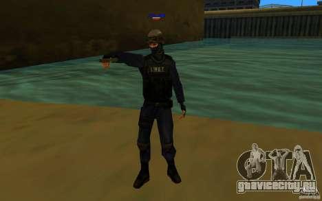 HQ skin S.W.A.T для GTA San Andreas второй скриншот