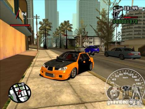 Subaru Impreza WRX Sti 2006 Elemental Attack для GTA San Andreas