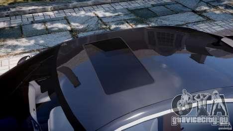 Mercedes-Benz S600 w221 для GTA 4 вид снизу