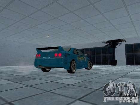 Nissan Skyline R 33 GT-R для GTA San Andreas вид справа