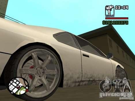 Новые запчасти для тюнинга для GTA San Andreas
