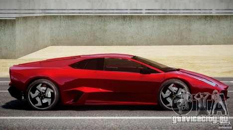 Lamborghini Reventon для GTA 4 вид слева