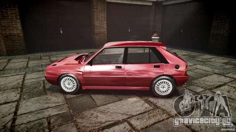 Lancia Delta HF Integrale Dealers Collection для GTA 4 вид слева