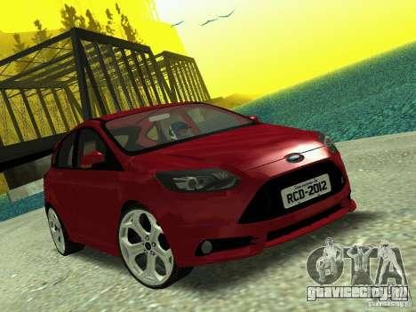 Ford Focus ST 2013 для GTA San Andreas