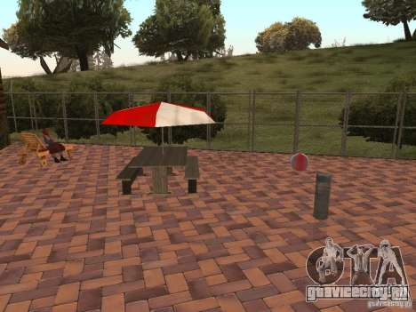 Новая Вилла для CJ для GTA San Andreas седьмой скриншот
