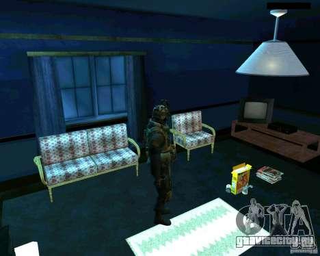 Солдат из CoD MW 2 для GTA San Andreas четвёртый скриншот