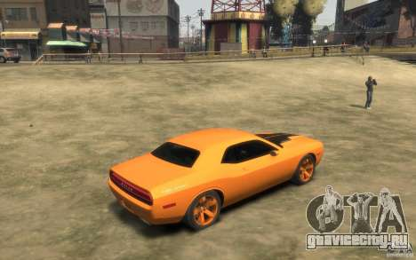 Dodge Challenger Concept для GTA 4 вид справа
