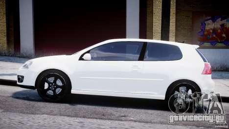 Volkswagen Golf 5 GTI для GTA 4 вид слева