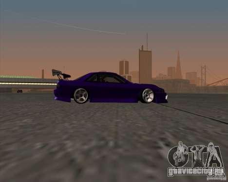 Nissan Silvia S13 Nismo tuned для GTA San Andreas вид сзади