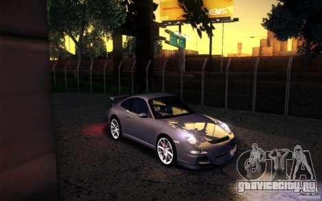 Porsche 911 GT3 (997) 2007 для GTA San Andreas
