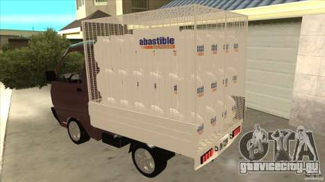 Suzuki Carry 4wd 1985 Abastible для GTA San Andreas вид сзади слева
