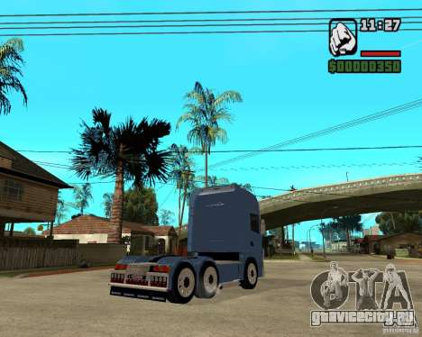 Scania 164L 580 V8 Black Beaunty для GTA San Andreas вид справа